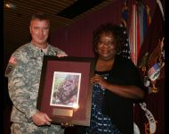 Mrs. Knox and Col. Jerome Penner III